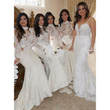 BohoProm Bridesmaid Dress Exquisite Tulle & Satin High-neck Mermaid Bridesmaid Dresses BD093