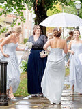 BohoProm Bridesmaid Dress Marvelous Chiffon Sweetheart Neckline Floor-length A-line Bridesmaid Dresses BD047