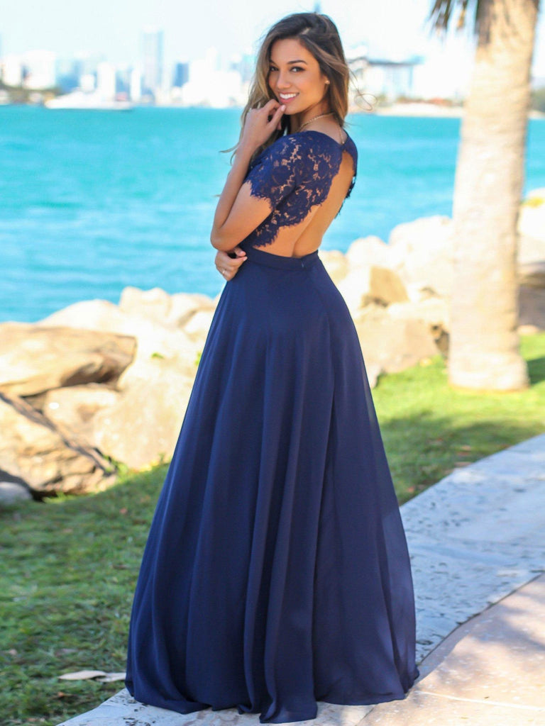 BohoProm Bridesmaid Dress Romantic Chiffon Sweetheart Neckline A-line Bridesmaid Dresses With Appliques BD016