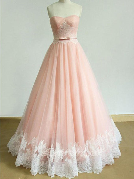 BohoProm Wedding Dresses Modern Tulle Sweetheart Neckline Floor-length Wedding Dress WD040