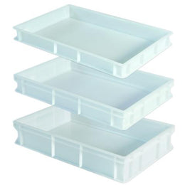 GI Metal Plastic Dough Boxes for Proofing