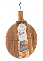 "14"" Acacia Wood Serving Board - by Alfresco Chef"