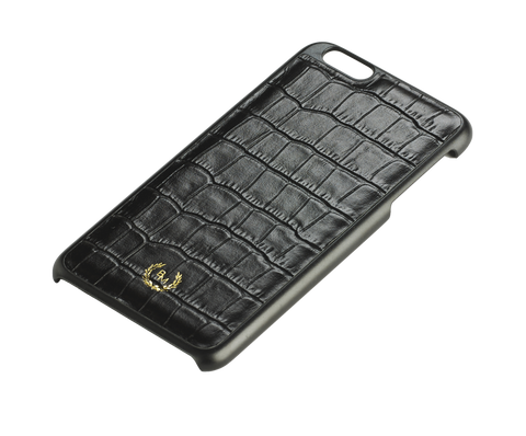 Bogmar iPhone 6/6s PLUS Case - Imperial Black Croco