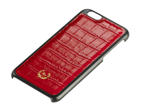 Bogmar iPhone 6/6s Case - Emperor Red Croco