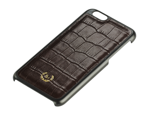 Bogmar iPhone 6/6s Case - Truffle Brown Croco