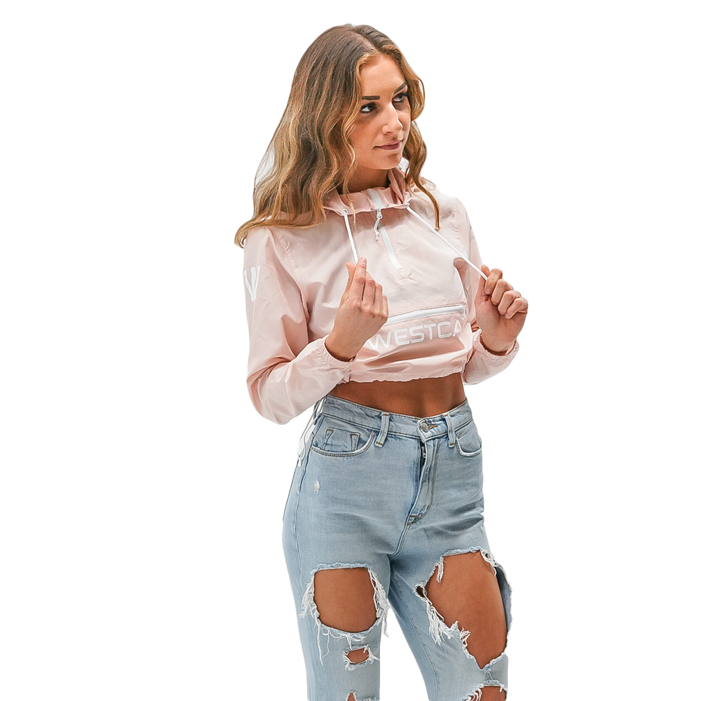 Lanessa Crop Windbreaker