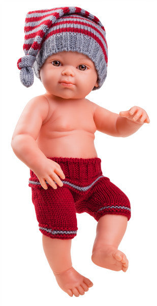 Paola Reina Doll - Red Knit