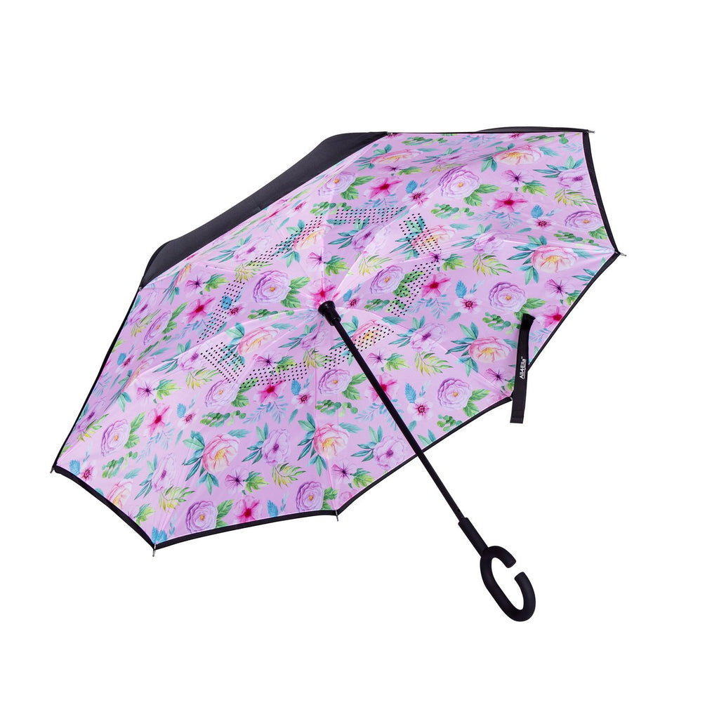Adults Inside Out Umbrella - Floral