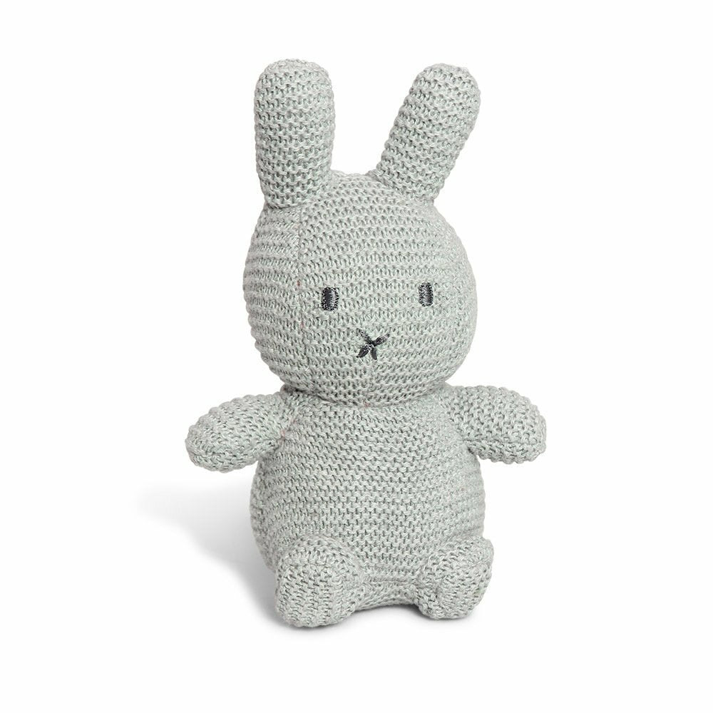 Miffy Cotton Knitted Toy - Grey