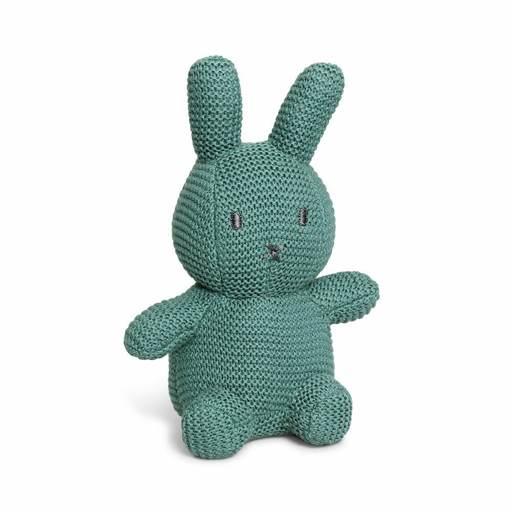 Miffy Cotton Knitted Toy - Sage