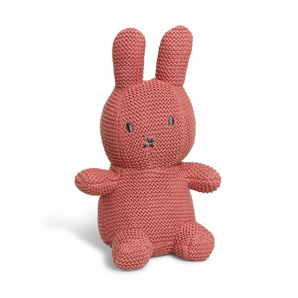 Miffy Cotton Knitted Toy - Dusty