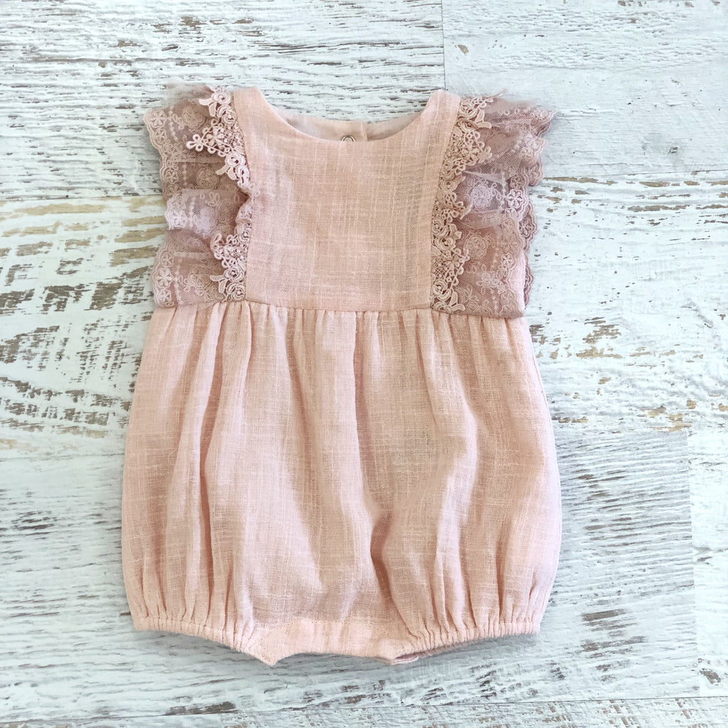 Baby Lace & Tulle Romper