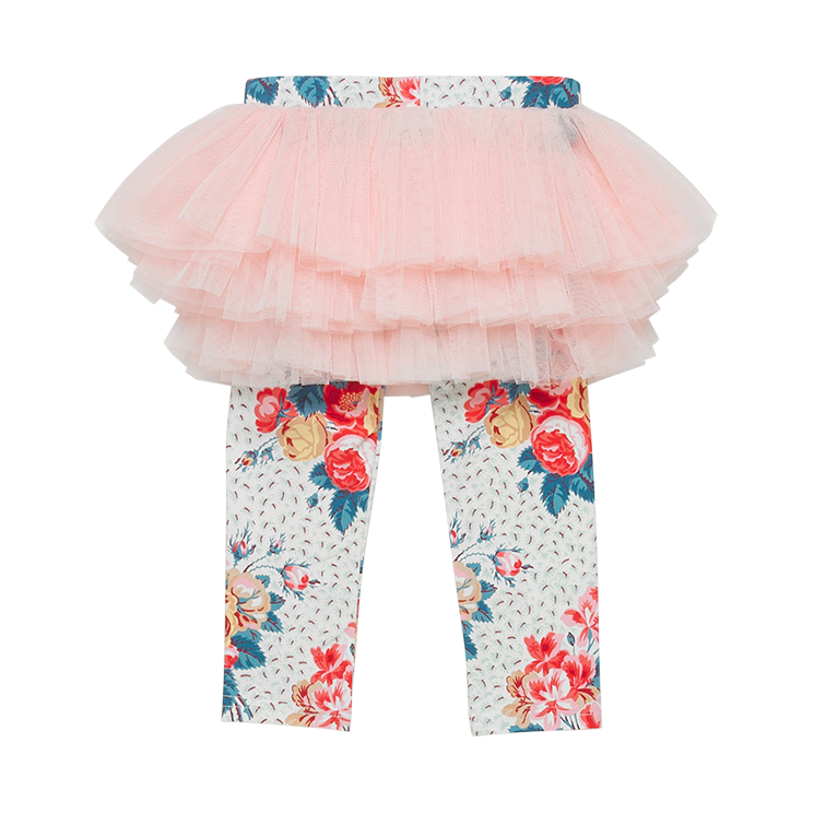 Antique Chintz Baby Circus Tights