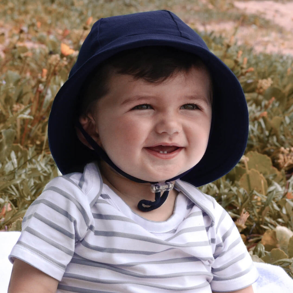 Baby Bucket Hat - Navy