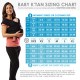 Baby K'tan Original Baby Carrier - Grey Marle
