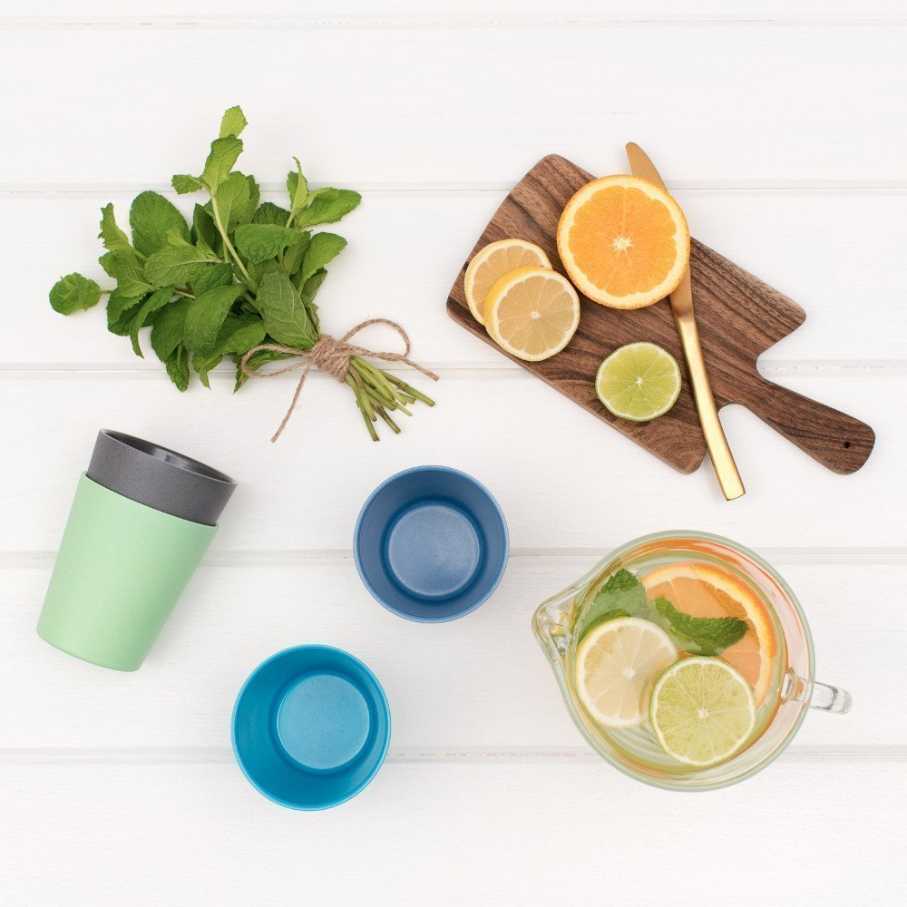 Bamboo Cup Set - Coastal