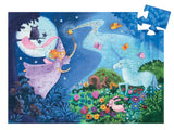 Silhouette Puzzle - Fairy & Unicorn 36PC