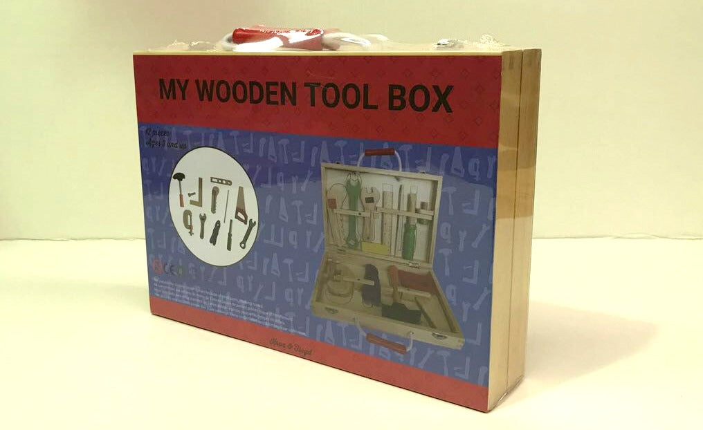My Wooden Tool Box