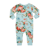French Floral LS Playsuit