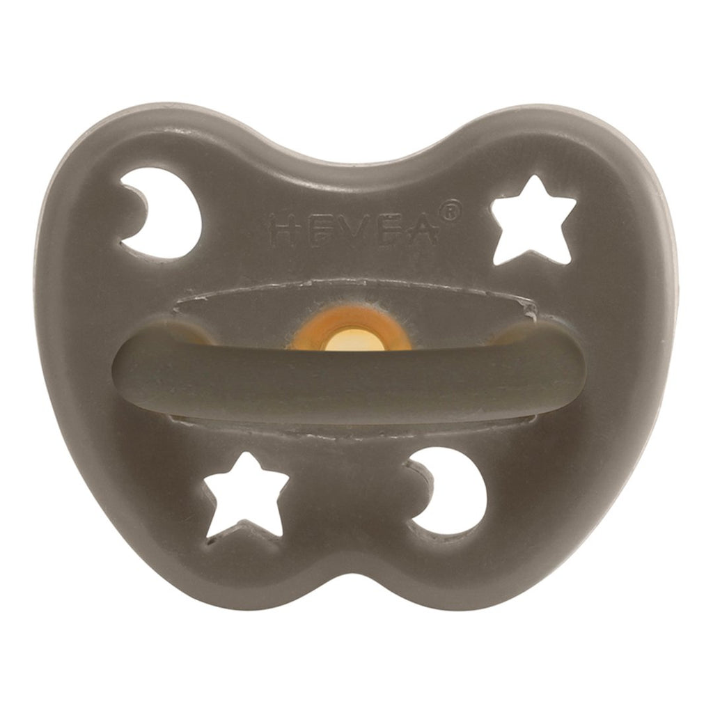 Hevea Shiitake Grey Pacifier - Grey
