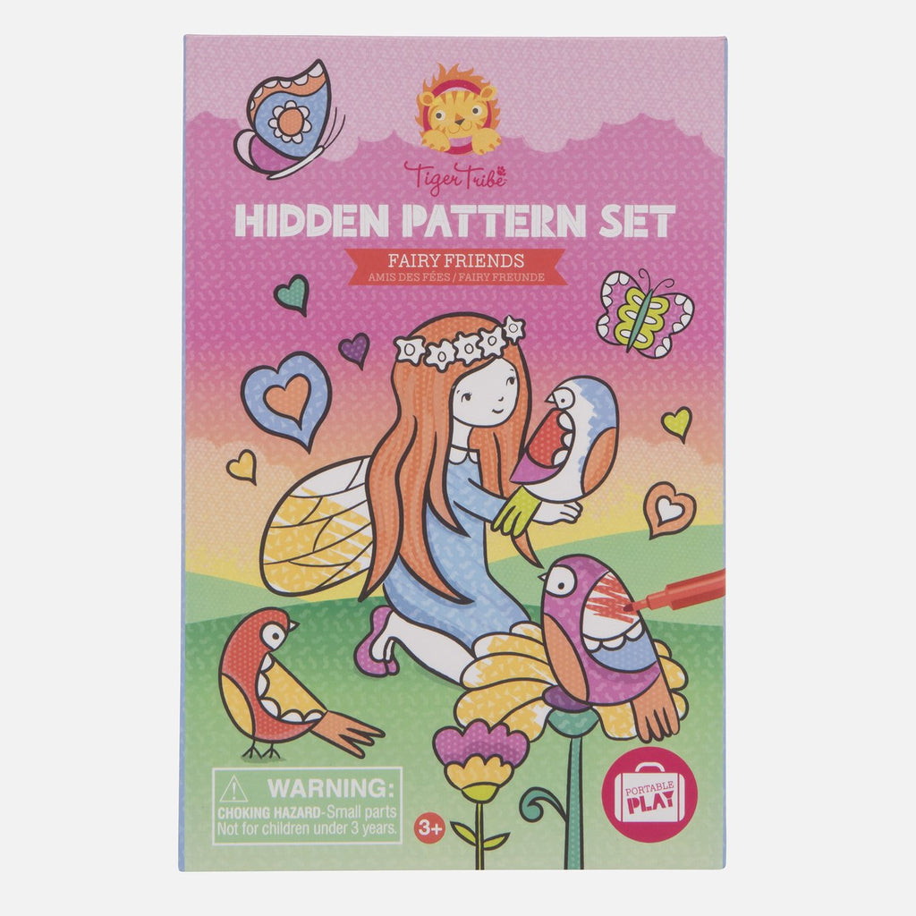 Hidden Pattern - Fairy Friends
