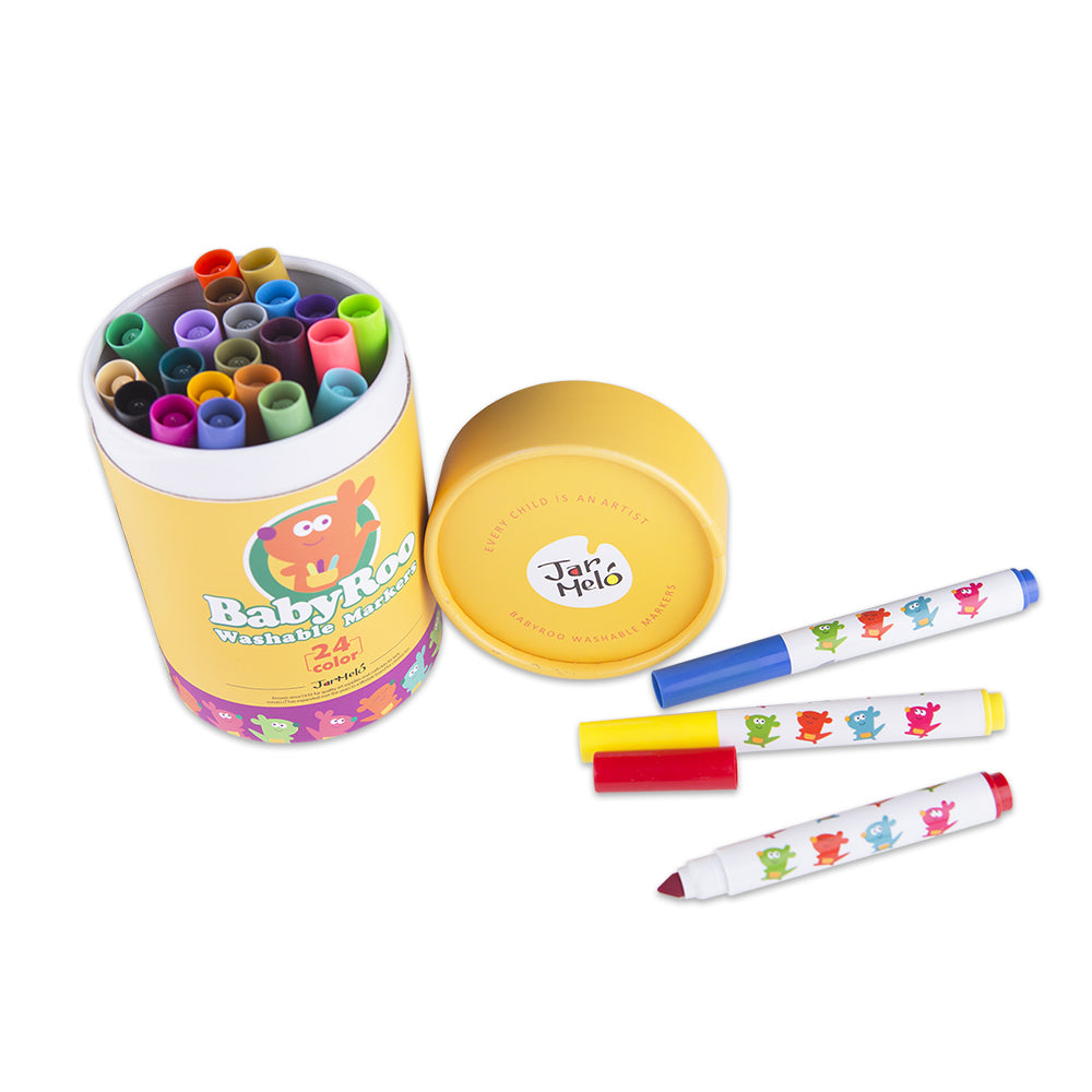 Washable Markers - 24 Colours