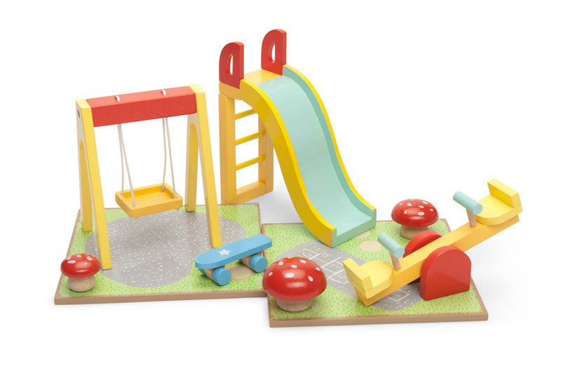 Outdoor Playset With Swing