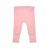 Pink Baby Knee Patch Tights