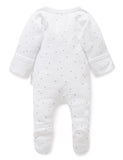 Premi Zip Growsuit - Grey Spot