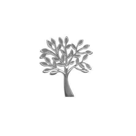 Sterling Silver Tree Of Life Pendant 2.5cm