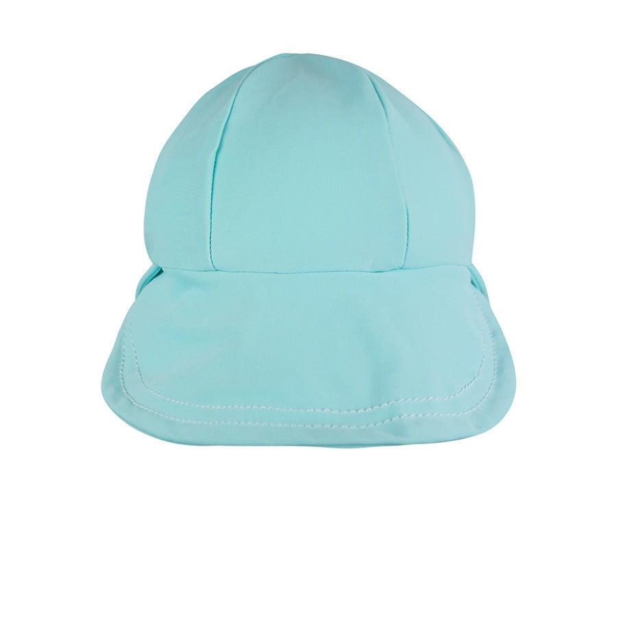 Kids Beach Legionnaire Hat - Aqua