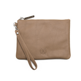 Cassie Clutch - Dusty Linen