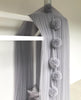 Pom Pom Garland - Light Grey
