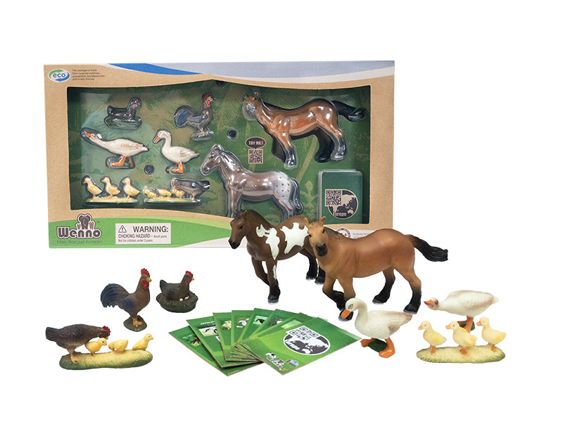 Wenno Farm Animals - 8 PCS