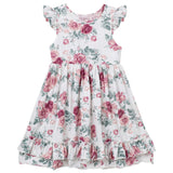 Iris Swing Dress - Audrey Tea Rose