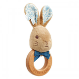 Signature Peter Rabbit Wooden Ring Rattle