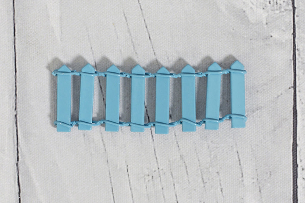 Fairy/Elf Fence - Pale Blue