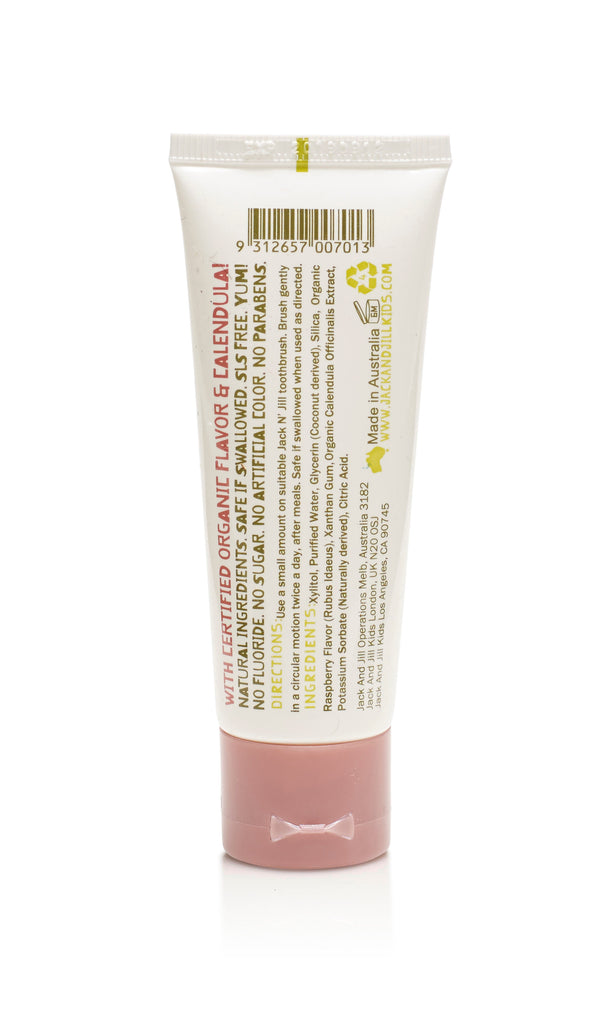 Natural Toothpaste - Raspberry