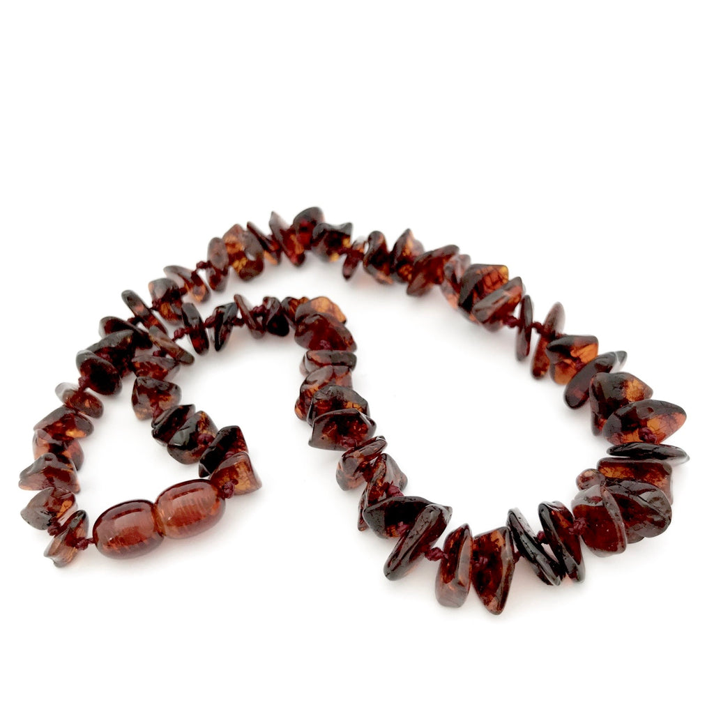 Baltic Amber Necklace - Cherry
