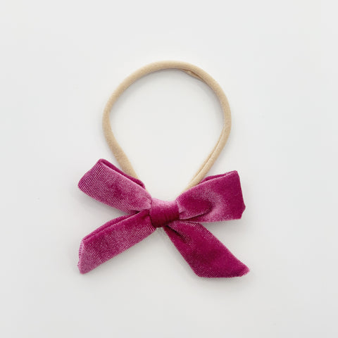Luxe Velvet Headband - Fairyfloss