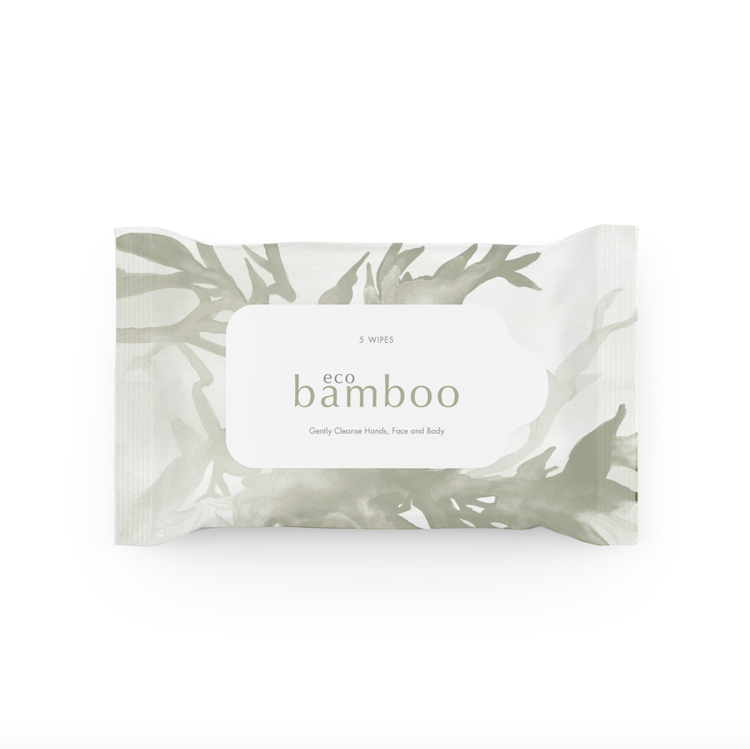 Eco Bamboo Wipes 5PK