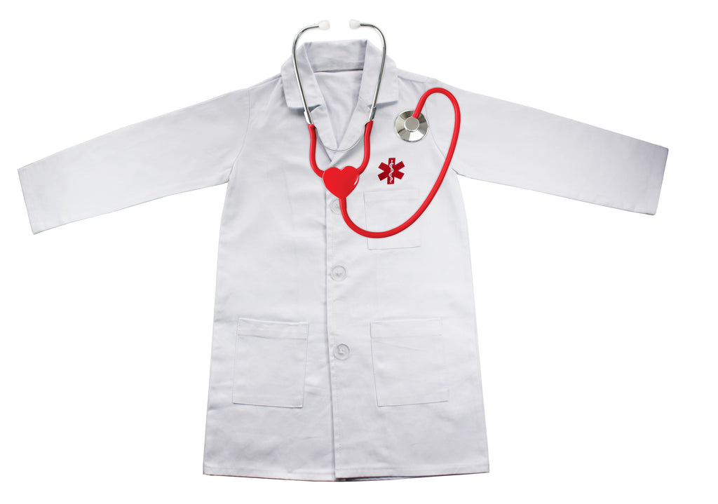 Doctor's Apron With Working Stethoscope