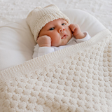 Milly Baby Blanket - Natural