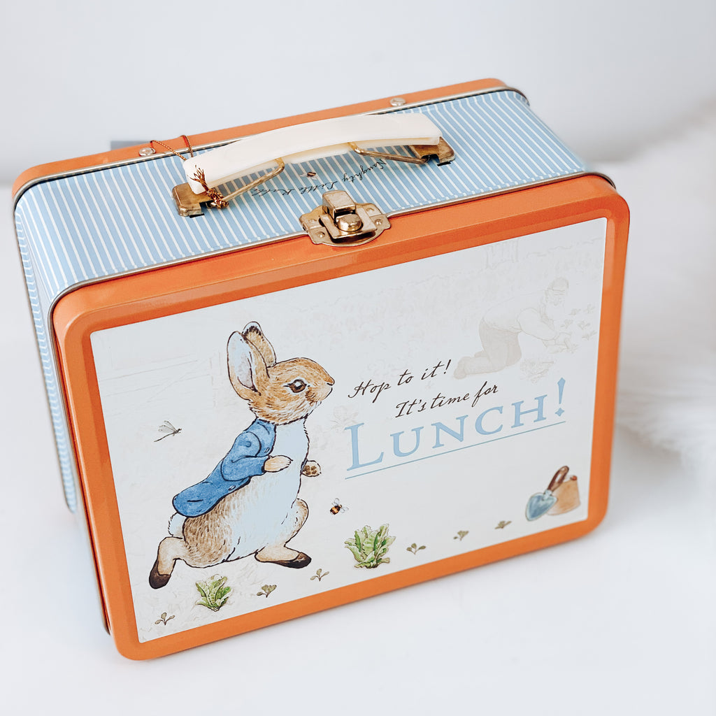 Peter Rabbit Tin Carry Case