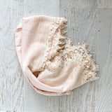 Heirloom Swaddle - Dusty Pink
