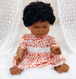 Baby With Down Syndrome Doll - African Girl