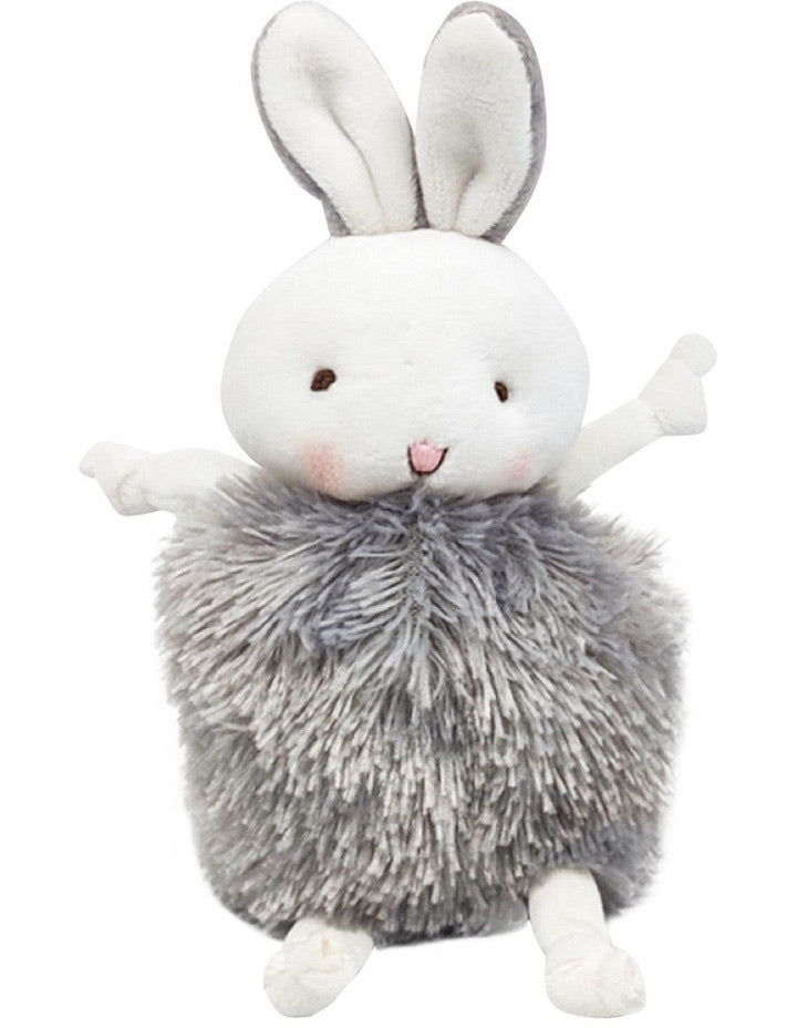 Roly Poly Plush Toy - Grey