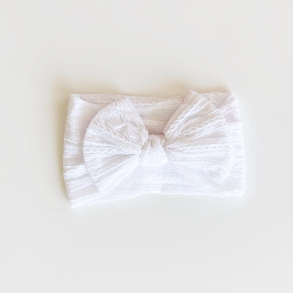Luxe Headband - White