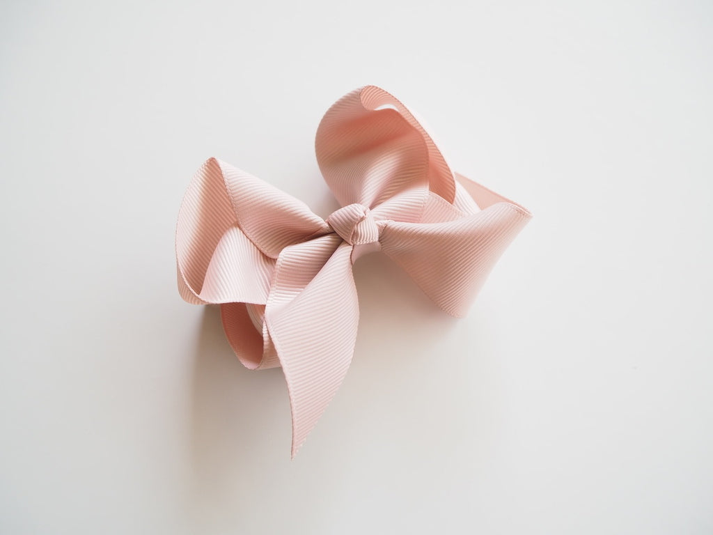 Bow Clip - Large Nude