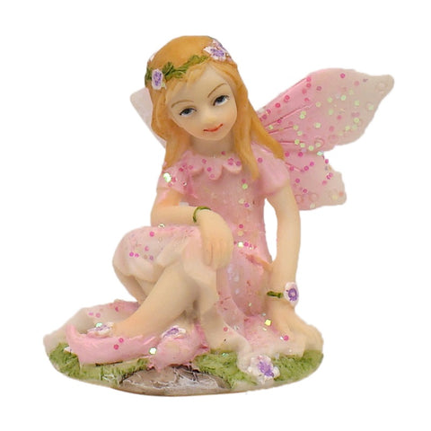 Flower Garden Fairy With Unicorn - Violet